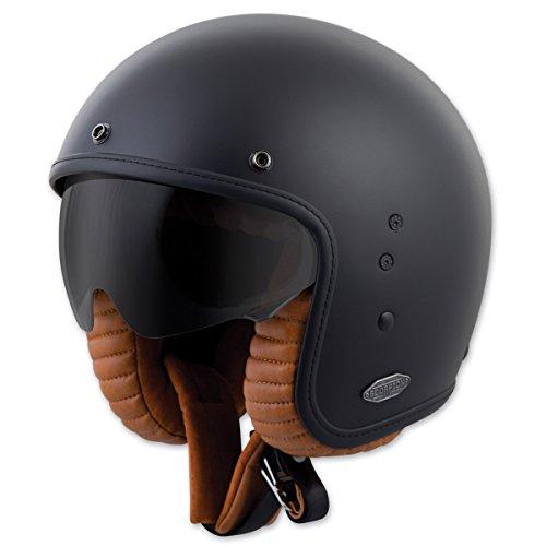 Scorpion EXO Belfast Solid Matte Black Open Face Helmet L