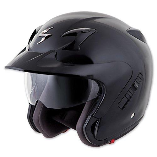 Scorpion EXO EXO-CT220 Solid Black Open Face Helmet M