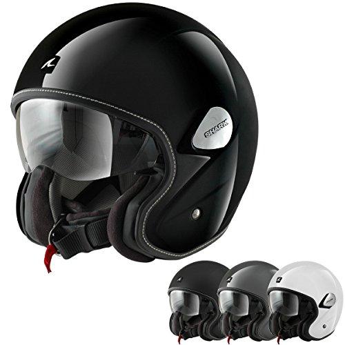 Shark Heritage Matte Black Open Face Helmet M