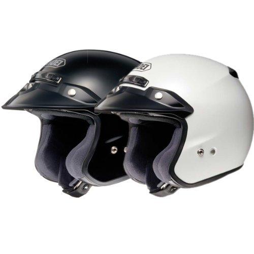 Shoei RJ Platinum R Matte Black Open Face Helmet - 3X-Large