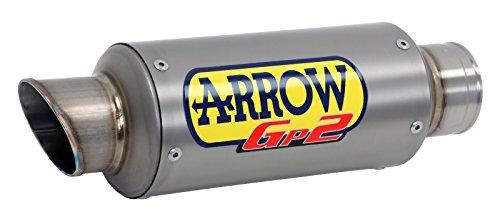 Arrow GP2 silencer Titanium for Yamaha MT-03 2016