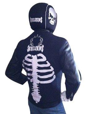 SkullSkins Reflective Motorcycle Jacket Vest Spine Large