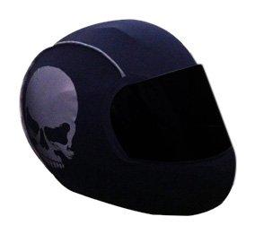SkullSkins Skulls Street Reflective Motorcycle Helmet Skin