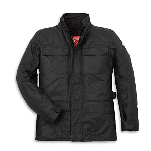 Ducati 981025307 Logo Four Pocket Textile Riding Jacket - XXL