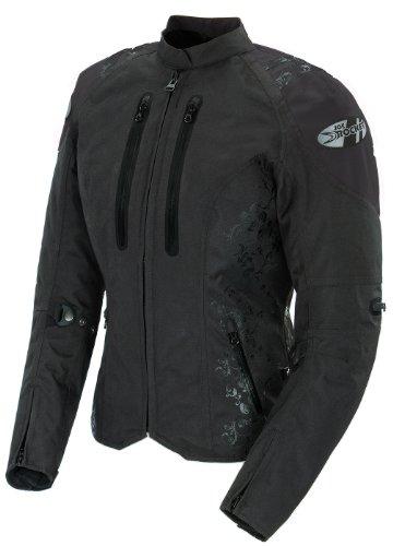Joe Rocket Atomic 40 Womens Textile Riding Jacket Black Large