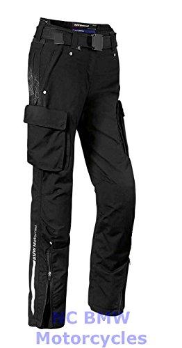 BMW Genuine Motorcycle Women Rider Waterproof Textile Pants Black Size 36