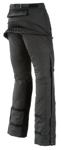 Joe Rocket Alter Ego Womens ArmoredPadded Black Textile Motorcycle Pants - Medium
