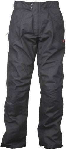 Joe Rocket Ballistic 70 Mens Textile Sports Bike Racing Motorcycle Pants - Black  Short - 3X-Large