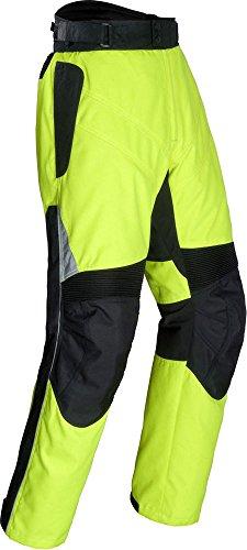 Tour Master Venture Mens Textile Motorcycle Pants - Hi-Visibility Yellow  Medium