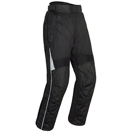 Tourmaster Venture Air 20 Mens Textile Motorcycle Pant Black Large by Tourmaster