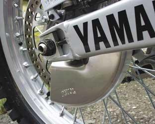 Devol Rear Disc Guard Aluminum for Yamaha WR YZ 125 250 426 450