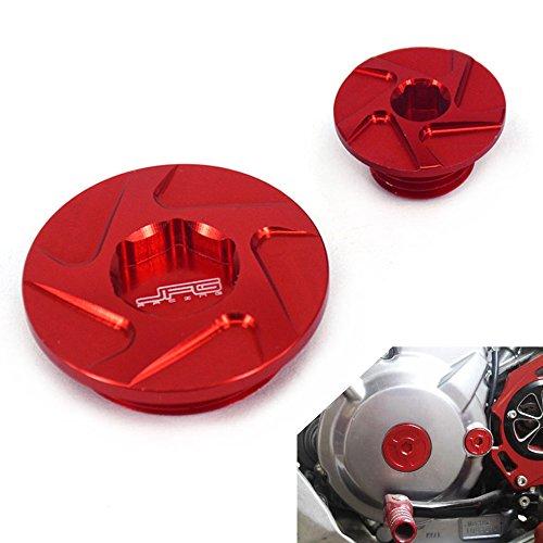 JFG RACING CNC Engine Timing Inspection Plugs Bolts For Honda CRF150R 07-16 CRF250R 10-16 CRF450R 02-16 CRF450X 05-16 XR250 Baja 95-07 XR400 Motard 05-08 Trx400EX 00-08 TRX450R 04-09
