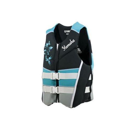 OEM Womens Yamaha Neoprene 2-Buckle Life Jacket Vest PFD Turquoise X-Large