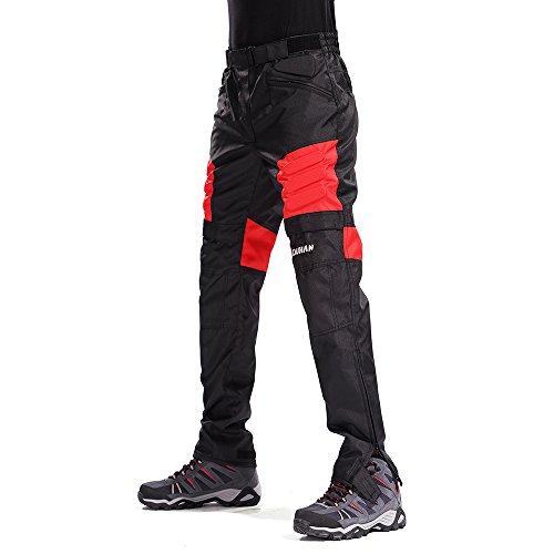 Motorcycle Pants Mens Riding Moto Pants Trousers Racing Pantalon Windproof Motobike Pants with Knee Pads Guards