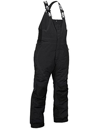 Castle X Racewear Phase Mens Snowmobile Bibs Black 6XL Short