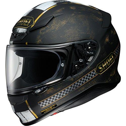 Shoei Terminus Rf-1200 Street Bike Racing Motorcycle Helmet - Tc-9 / Large