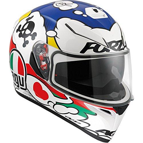Agv 0101-7512 K-3 Sv Motorcycle Helmet (comic, Medium)
