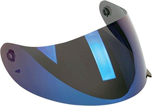Agv Anti-scratch Shield For K3 Helmet - Iridium Blue
