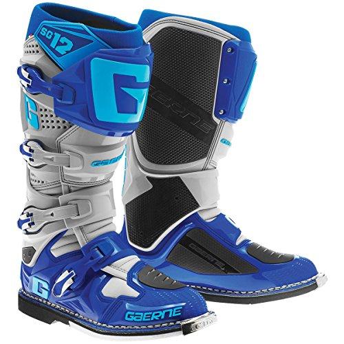 Gaerne 2174-033-012 SG-12 Boots GrayBlue 12