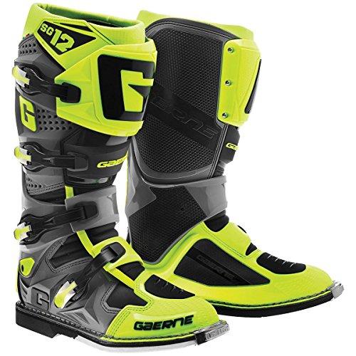 Gaerne 2174-049-009 SG-12 Boots GrayHi-Viz 9