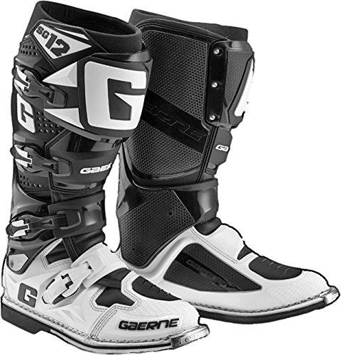 Gaerne Gaerne Sg-12 Blk Wht Sz 11 2174-014-011