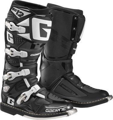 Gaerne SG-12 Boots Distinct Name Black Gender MensUnisex Size 8 Primary Color Black 2174-001-008