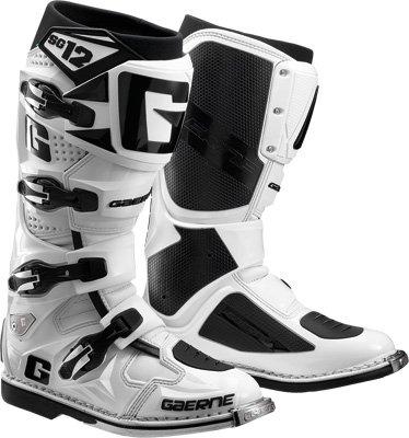 Gaerne SG-12 Boots Distinct Name White Gender MensUnisex Size 9 Primary Color White 2174-004-009