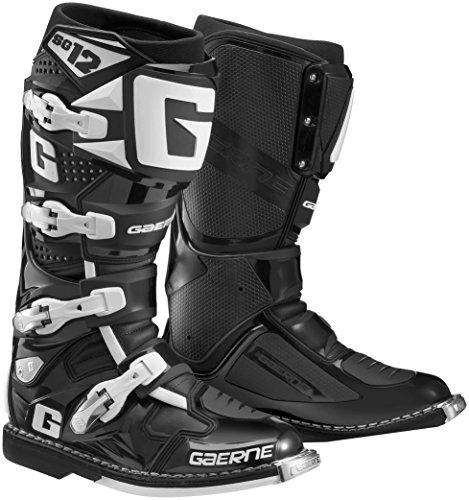 Gaerne SG-12 Boots Primary Color Black Size 8 Distinct Name Black Gender MensUnisex 2174-001-08