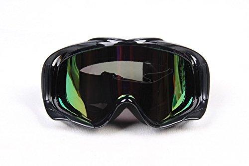 Uarter Motocross Goggles Adult Motorcycle ATV Dirt Bike Off-Road EyewearBlack