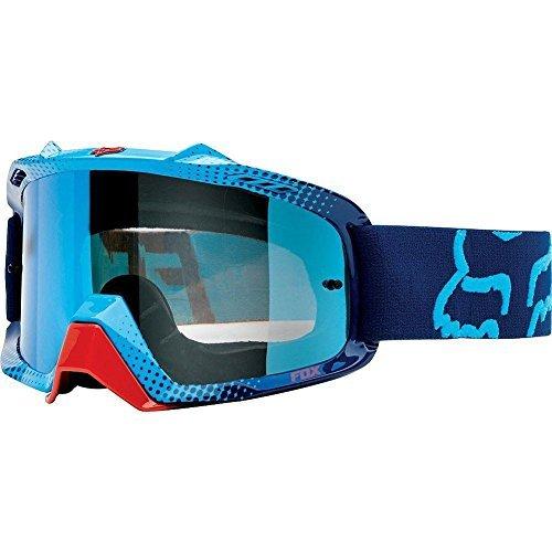 2015 FOX RACING GOGGLE AIRSPC 360 RACE BLUE WITH BLUE SPARK LENS 06334-912-OS