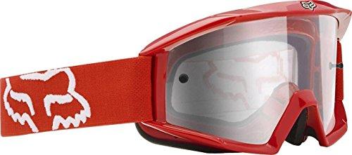 2015 FOX RACING GOGGLES MAIN RED CLEAR LENS MX OFF ROAD DIRT BIKE ATV 12364-902