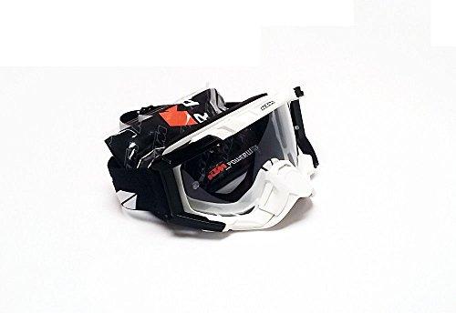 NEW KTM RACING GOGGLES WHITE 100 150 200 250 300 350 SX SXS EXC XCW 3PW1628200
