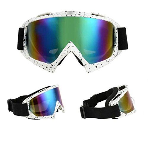 Motocross Goggles Sports Googles Eyewere Glasses Dirt Bike Riding Cycling Off road Motorcycle ski Big Lens