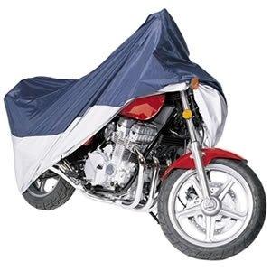 Vehicore Motorcycle Cover for Kawasaki Drifter NavySilver w Lock Cable