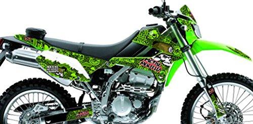 Kawasaki KLX 250 Custom Sticker Graphic Decals Kits BAT Metal Mulisha Trops