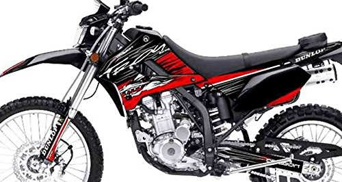 Kawasaki KLX 250 Custom Sticker Graphic Decals Kits Troy Lee Design