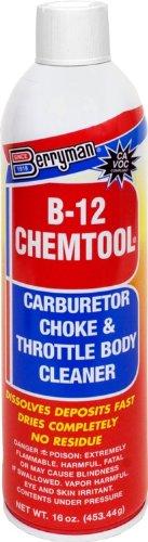 Berryman 0117C-12PK B-12 Chemtool CarburetorChoke and Throttle Body Cleaner - 16 oz Pack of 12