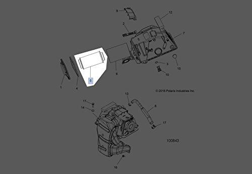 Polaris Filter Air Intake 7082101 New Oem