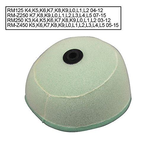Foam Air Filter Cleaner for Suzuki Rm125 Rm250 04-12 Rmz250 07-14 Rmz450 05-14