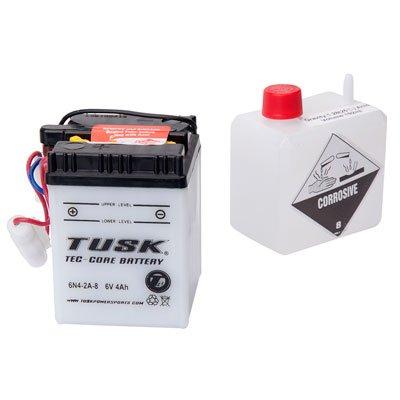 Tusk Tec-Core Battery with Acid 6N42A8 -Fits Honda CT70 Mini Trail 1980-1982