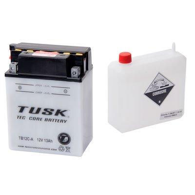 Tusk Tec-Core Battery with Acid TB12CA -Fits Yamaha TIMBERWOLF 250 2X4 1992-1998