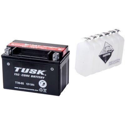 Tusk Tec-Core Battery with Acid TTX9BS Maintenance-Free -Fits Honda TRX 400EX 1999-2008