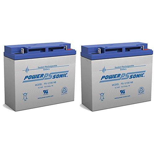 12V 18Ah HR22-12FR CF-12V18C UPS Rechargeable Sealed Lead Acid Battery - 2 Pack