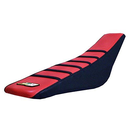 JFG RACING RedBlack Gripper Soft Motorcycle Seat Cover Skin For Honda CR125R 98-99 CR250R 1997-1999