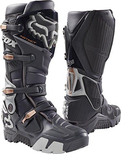 Fox Racing Instinct Offroad Mens Motocross Boots - Charcoal - 10