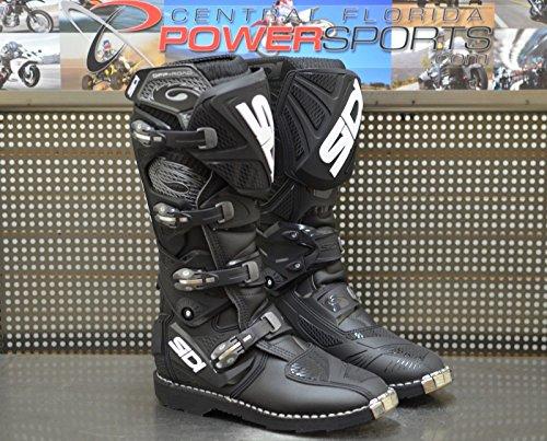 Sidi X3 TA Off Road Motorcycle Motocross Boots Black US 95  EU 43