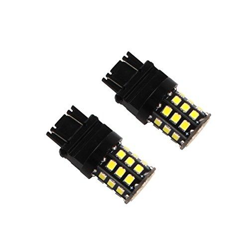 Northpole Light 2pcs 2835 33 SMD LED White Car Lights 3056 3156 3057 3157 LED Bulbs for Backup Reverse LightsTail Lights Brake Lights Xenon White