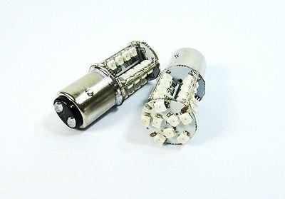 LEDIN 2 Pcs of 1157 40 SMD LED Brake Light BAY15d 2357 7528 Red