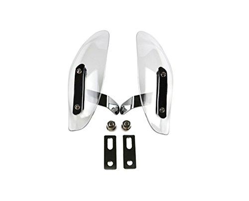 Windshield ABS Motocross Transparent Handguards Handlebar Hand Guards For Honda Yamaha Suzuki KTM Kawasaki BMW