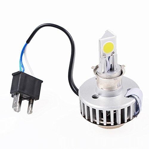 18W-24W White H4 HiLo Beam Motorcycle COB LED Headlamp Light Bulb For Harley Honda Kawasaki Suzuki